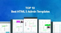 Top 10 Best Premium HTML 5 Admin Templates