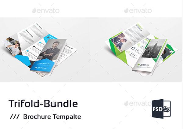 Corporate Tri-Fold Brochure Bundle- Technig