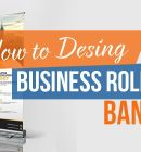 Create Business Roll Up Banner in Photoshop - Technig