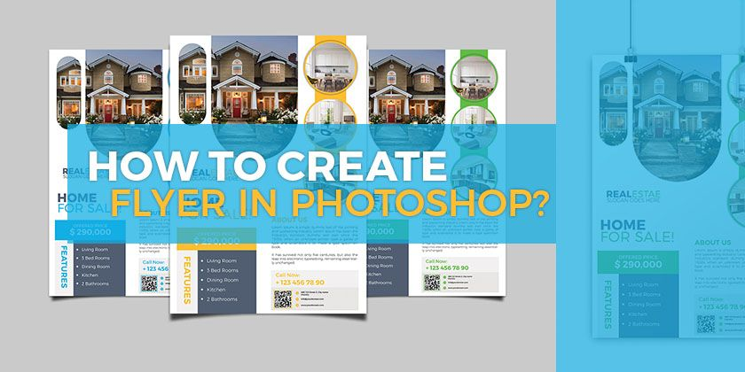 How to make a flyer in photoshop