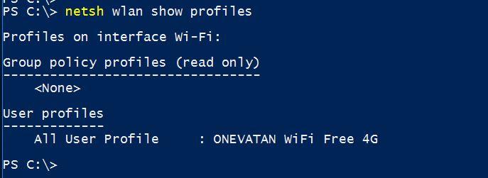 Delete WiFi Network Profile in Windows 10 with Command Line - Technig