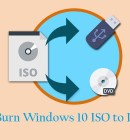 How to Burn Windows 10 ISO File to DVD - Technig