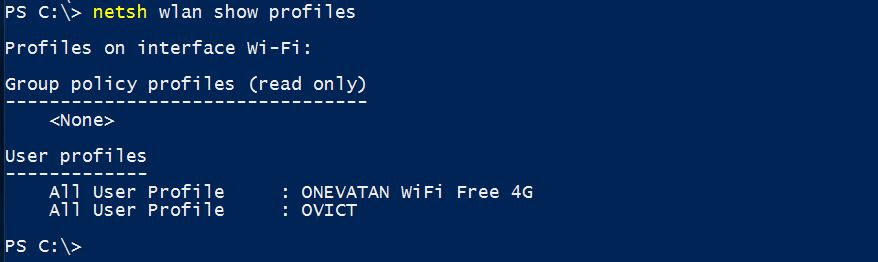 How to Find Saved WiFi Password on Windows 10 with Command