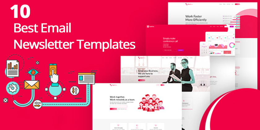 Top  Email Newsletter Templates For  Email Marketing  Technig
