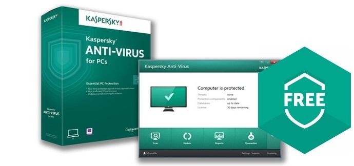 Kaspersky Free AntiVirus Software 2018 - Technig
