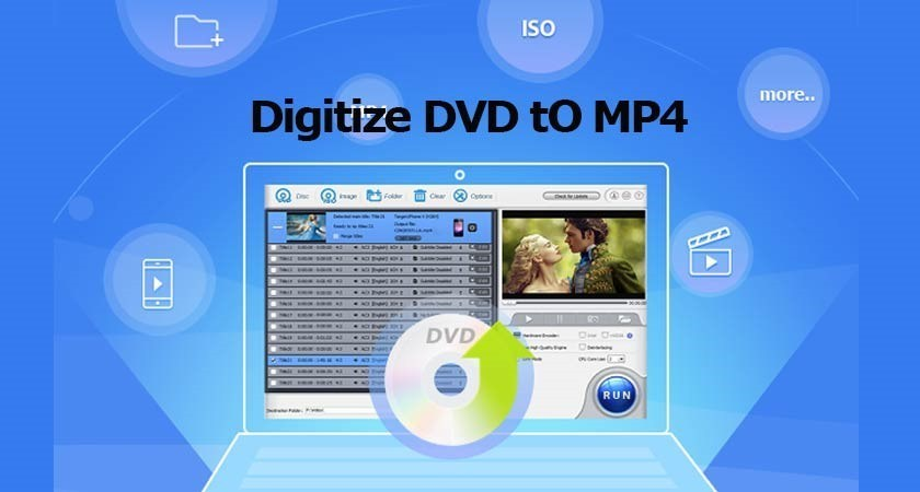Easily Digitize a DVD to MP4 with Free Winx DVD Ripper