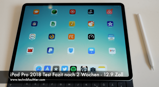 ipad pro 2018 test fazit nach 2 wochen 12 9 zoll. Black Bedroom Furniture Sets. Home Design Ideas