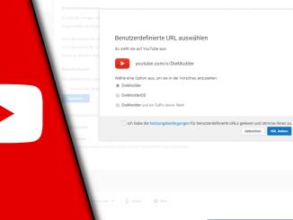 Youtube URL ändern