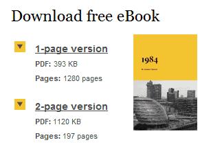 Planet eBook site