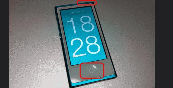 7th Gen iPod Nano Reset