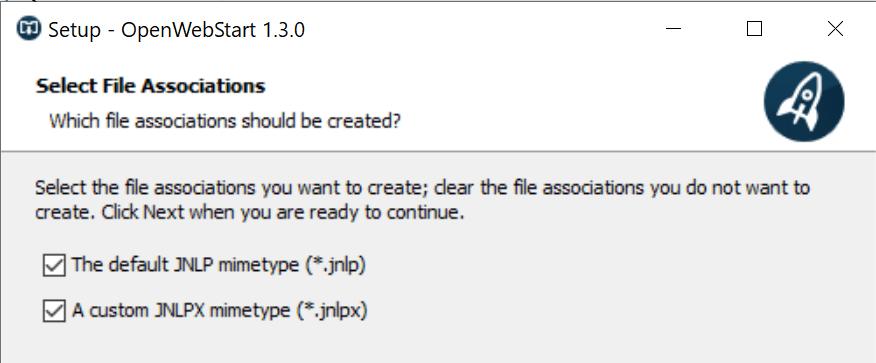 openwebstart open jnlp files