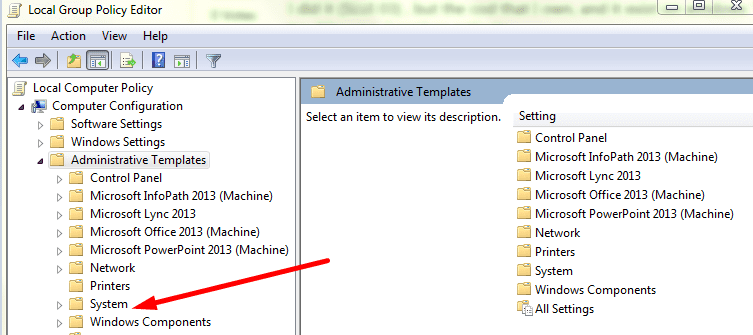 Local Group Policy Administrative Templates