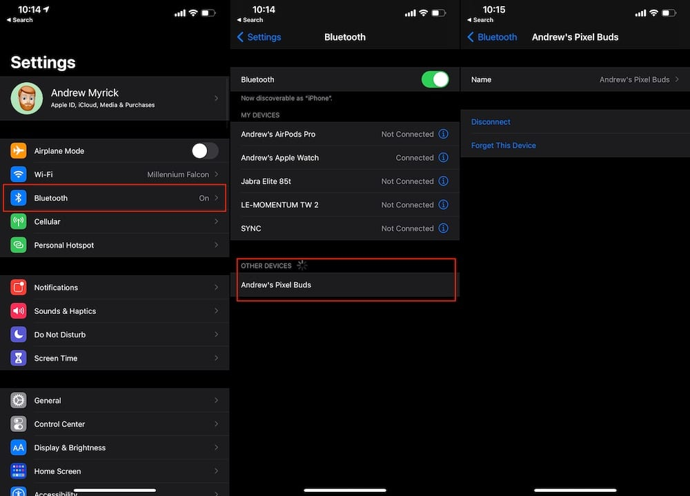 Use Pixel Buds with iPhone How to