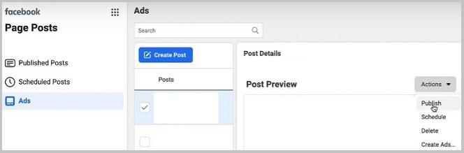 carousel post publish