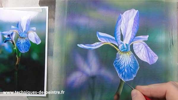 peindre-details-fleur-iris-techniques-de-peintre