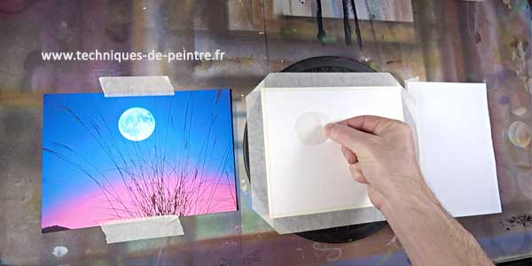 placer-lune-techniques-de-peintre