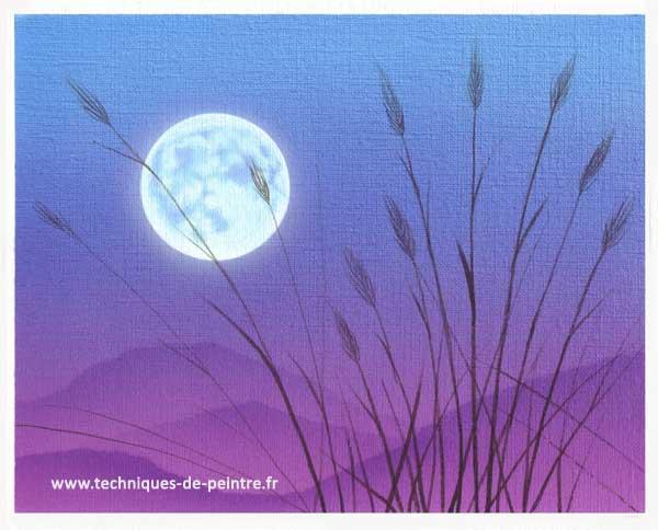 tableau-lune-bleu-techniques-de-peintre