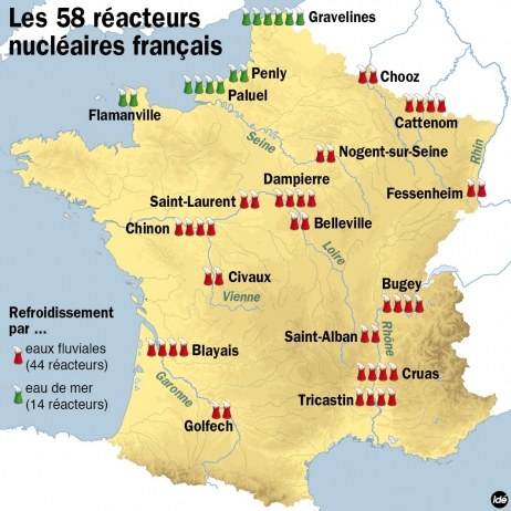 Le parc nucléaire français