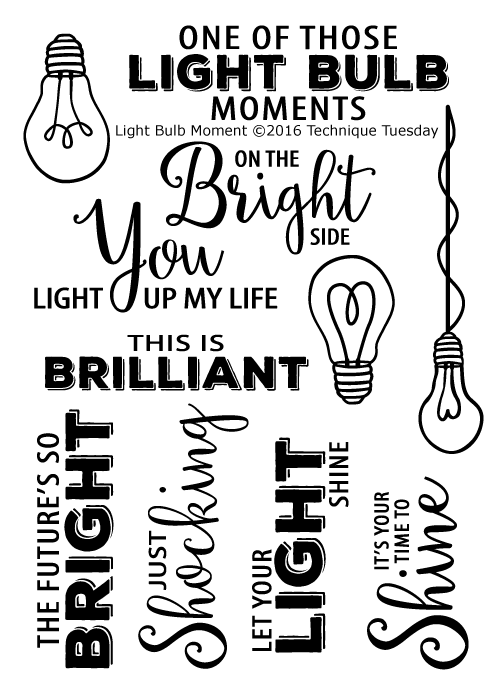 Light Bulb Moment Samp Set Technique Tuesday