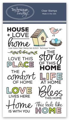 love home stamp set