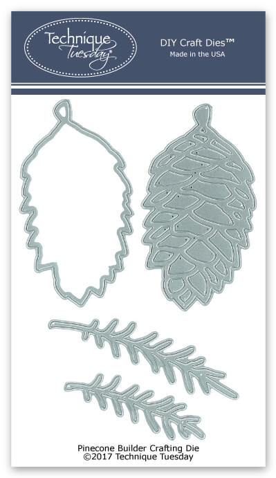 Pinecone Builder Metal Cutting Dies Craft Dies