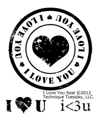 i love you seal