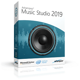 Ashampoo Music Studio 2019 box shot