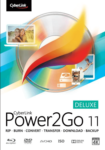 CyberLink Power2Go 11 Deluxe Free License