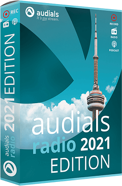 Audials Radio 2021 Edition box Shot