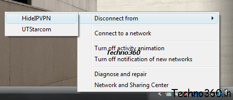 HideIPVPn on my Acer laptop