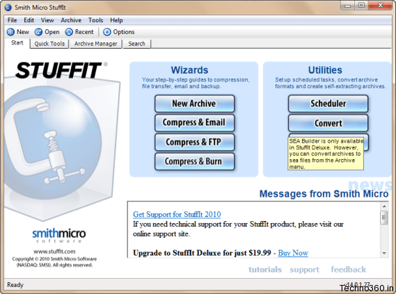 StuffIt Standard Edition 2010 for free