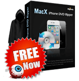 MacX iPhone DVD Ripper Giveaway