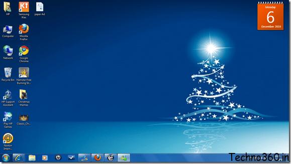 download windows 7 christmas themes