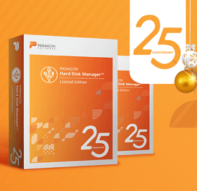 Paragon Hard Disk Manager 25 Anniversary Limited Edition Giveaway