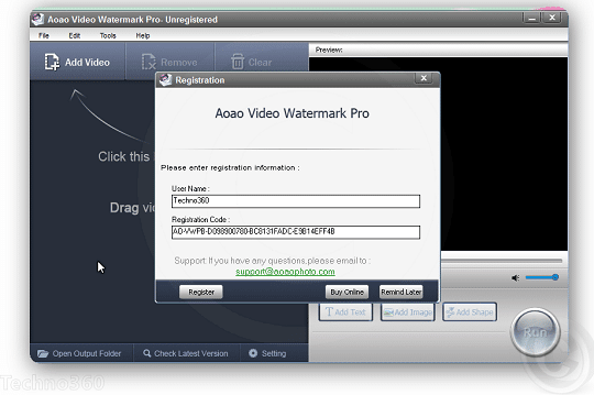 Aoao Video Watermark Pro free