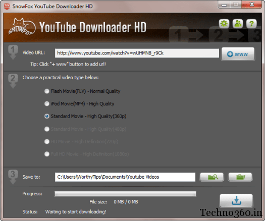 download youtube videos in higher quality mp4 format
