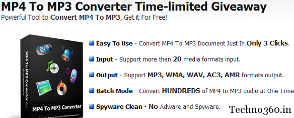 Get MP4 To MP3 Converter For Free