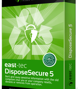 East-Tec DisposeSecure Free License