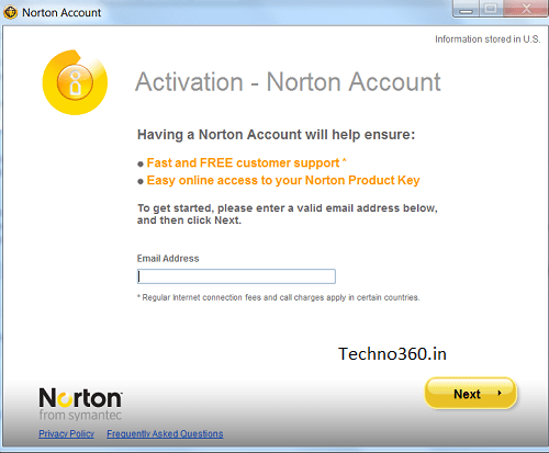 norton antivirus 2012 activation key