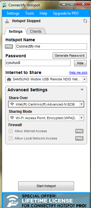 connectify hotspot 6