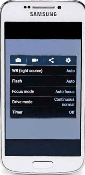 S4 zoom modes