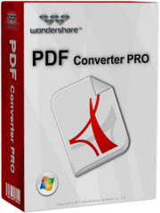 Wondershare PDF Converter Pro Free License