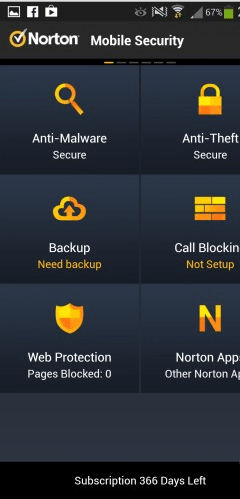 Norton Mobile Security Free 1-Year Subscription
