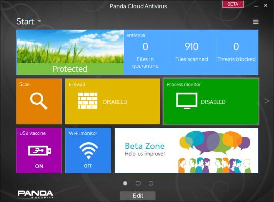 Panda Cloud Antivirus 2.9 Beta