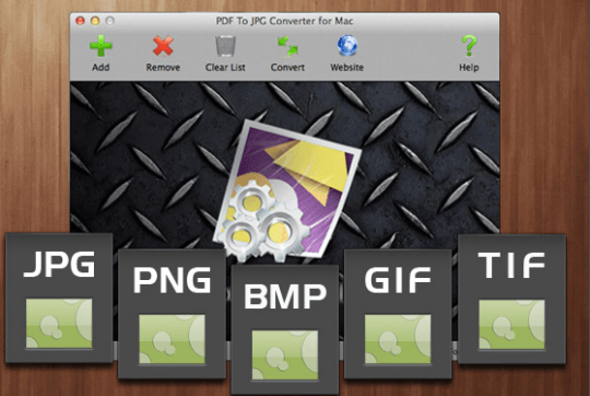 PDF to JPG Converter for Mac