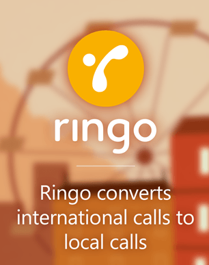 ringo international calls