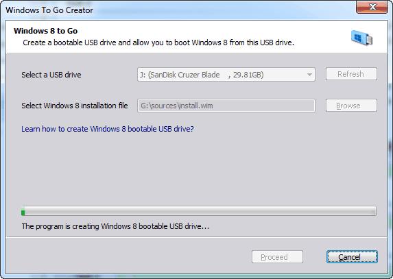 windows 8 to go