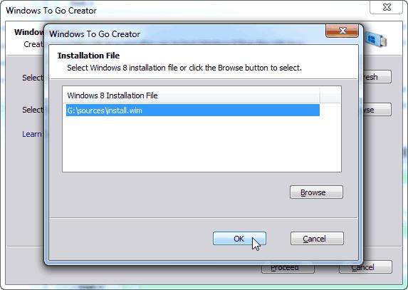 windows to go creator  windows 8 installation