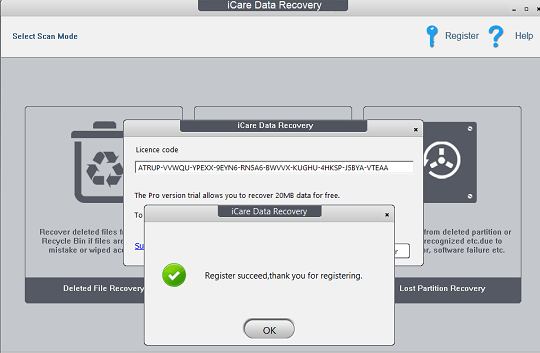 iCare Data Recovery Professional license code