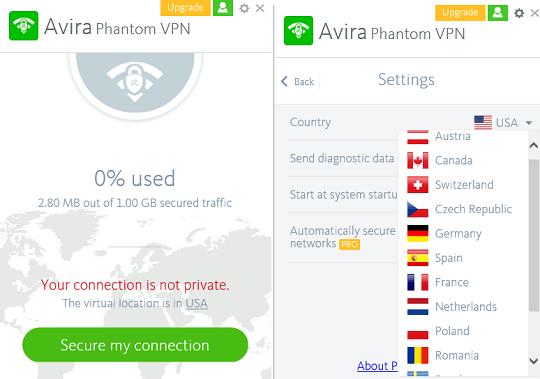 avira phantom free vpn